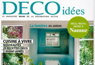 Couverture magazine DECO IDEES - Magazine belge