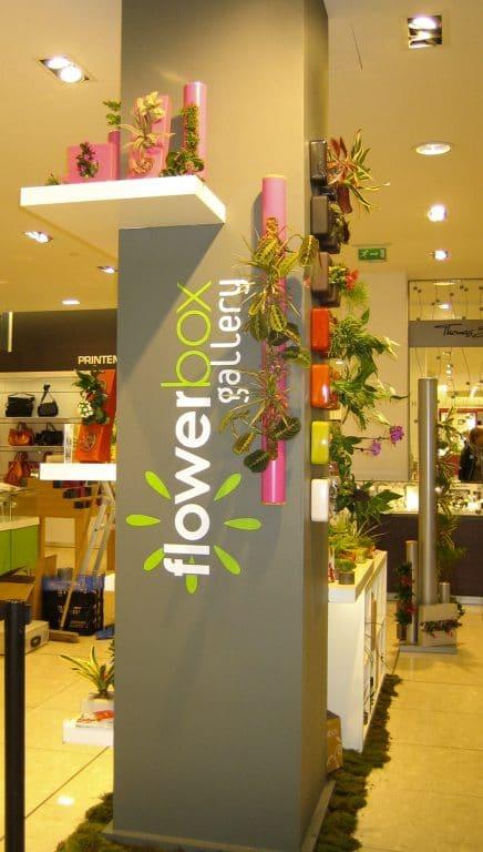 Stand pour Flowerbox Lille au Princtemps de Lille