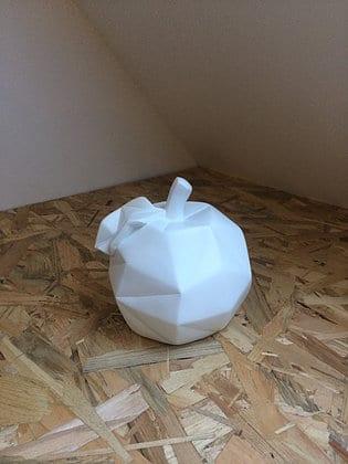 Pomme origami déco