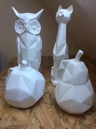 Objets origami déco