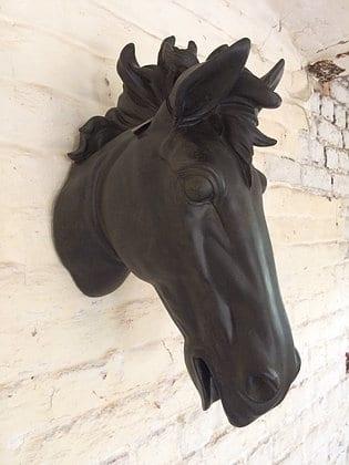 Tête de cheval déco