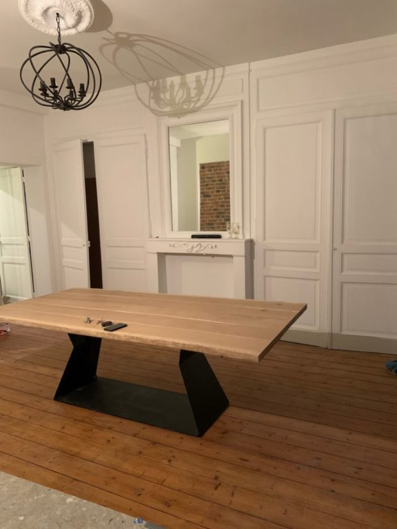 Table sur mesure HDesign Auchy-les-Orchies
