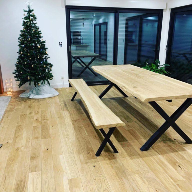 Table et banc sur mesure HDesign Auchy-les-Orchies