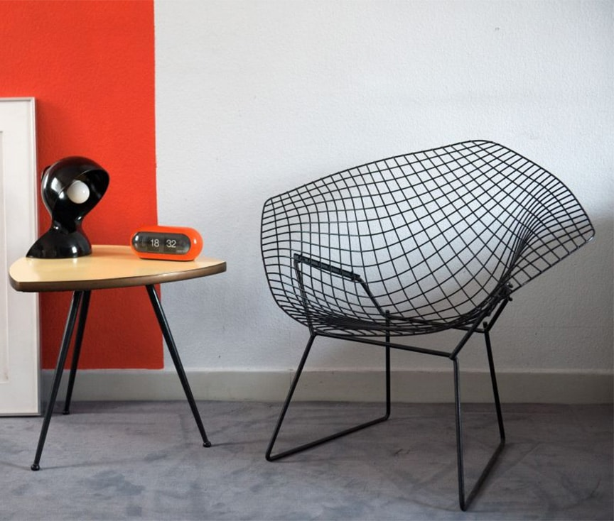 Chaise Diamond - Harry Bertoia
