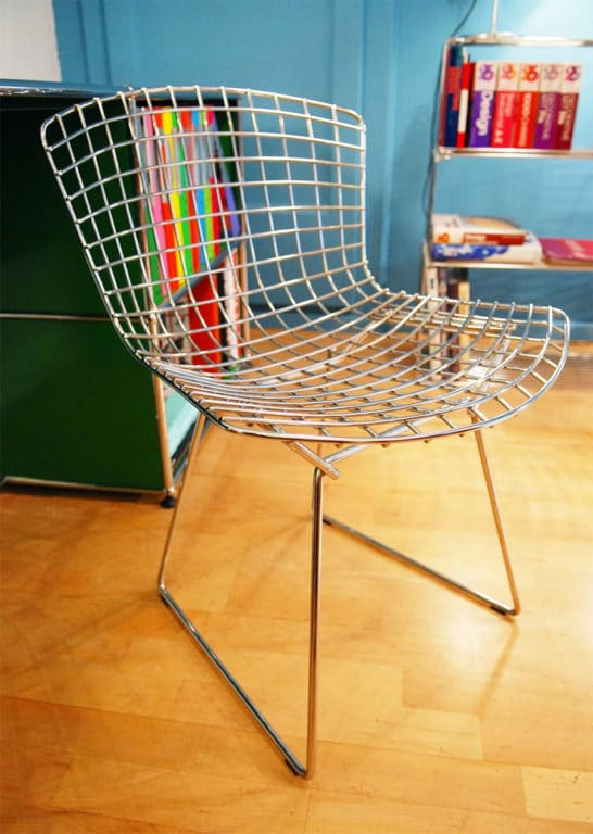 Chaise Wire - Harry Bertoia